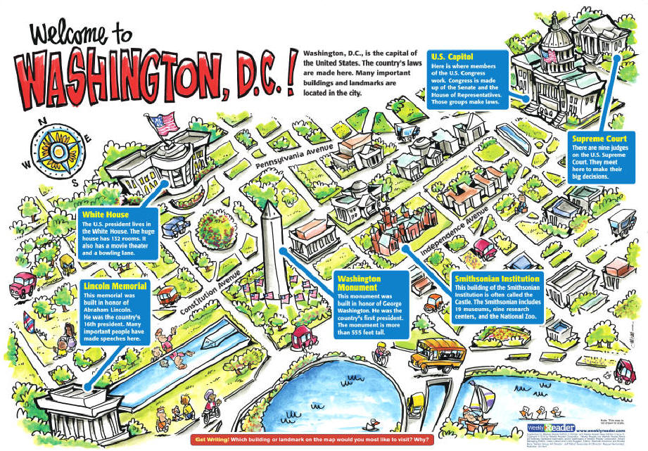 Branches Of Government Lessons TES Teach – Dc Tourist Attractions Map